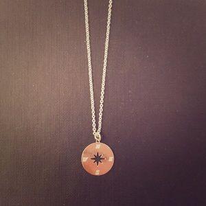 H&M compass necklace